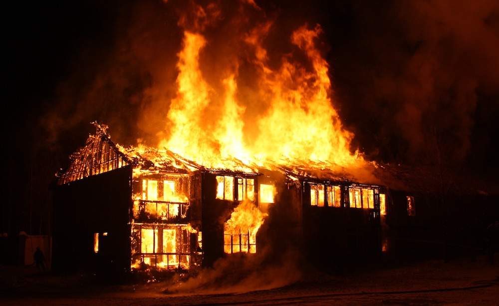 does home insurance cover arson damage?