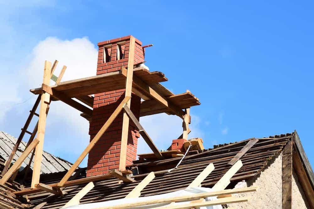 chimney damage repair